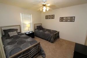 Transitional housing room